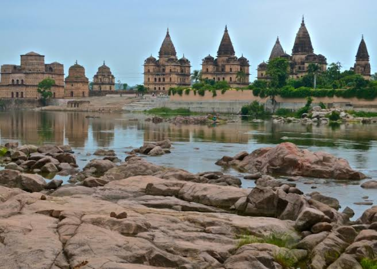 Monuments in Orchha