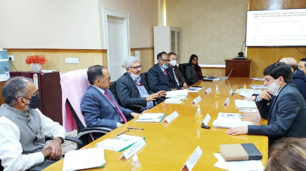 Secretary (Power) and CMD, NHPC meets Chief Secretary of Sikkim and visit NHPC's 510 MW Teesta-V and 500 MW Teesta VI Project