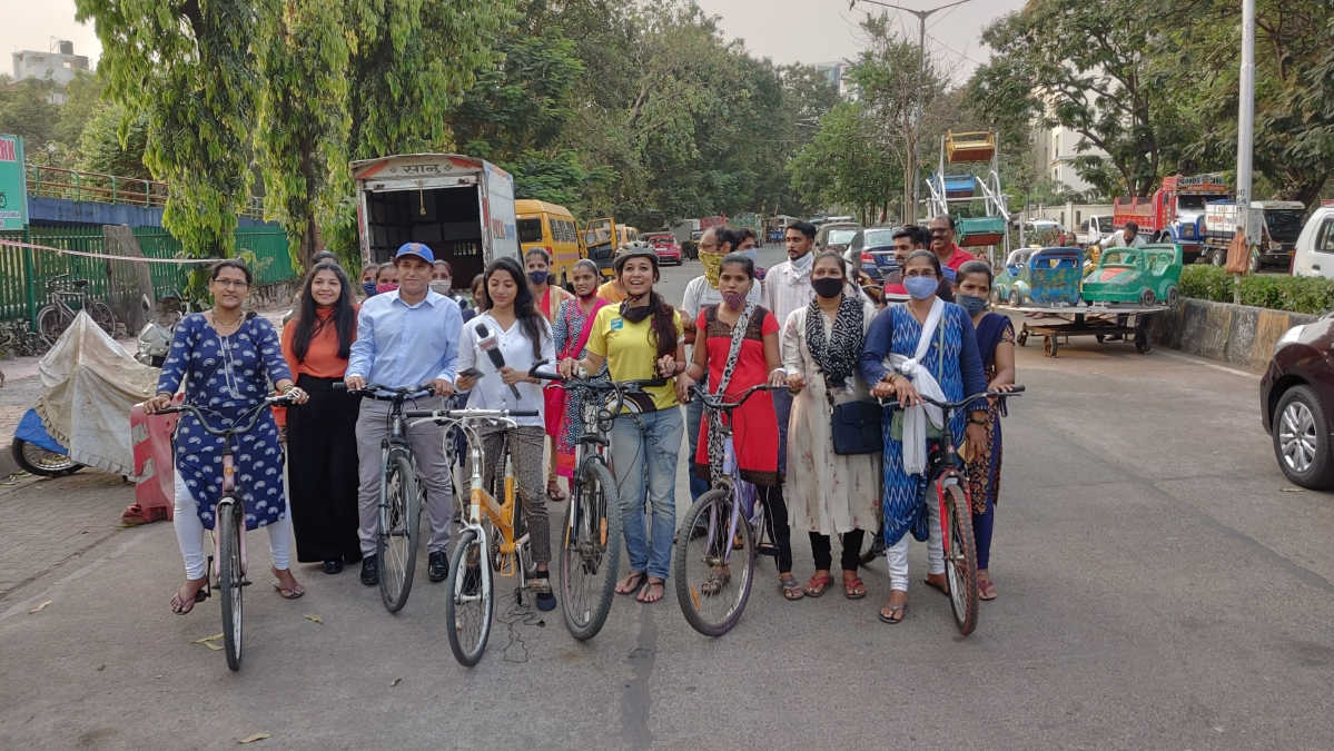 Angels of Mumbai: How an avid cyclist is helping women to shorten their commute to work