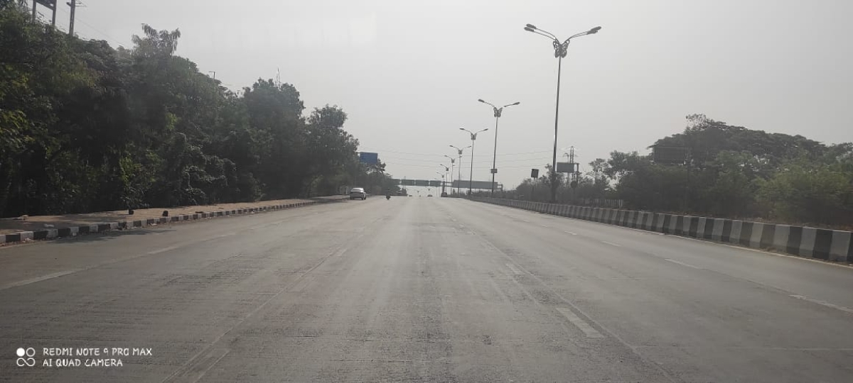 Sion Pavel road and Mumbai Pune Expressway
