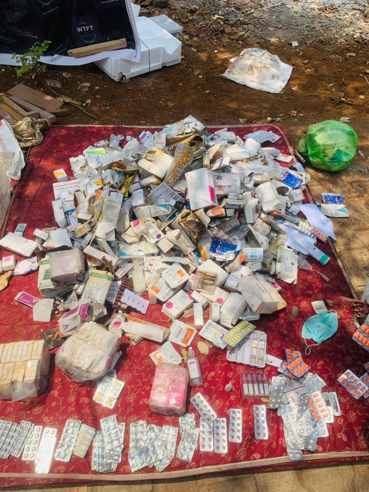 Navi Mumbai: With Them For Them, social work group, clean expired medicines from mangroves in Airoli; see pics