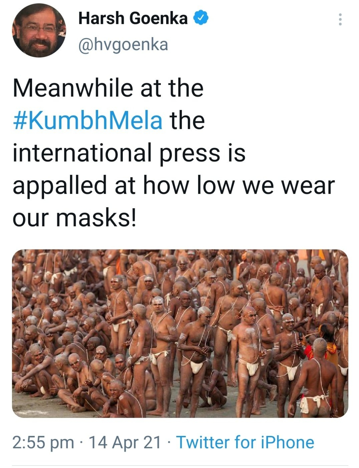 Thousands appeal to #BoycottCeat after CEO Harsh Goenka cracks joke on Kumbh Mela