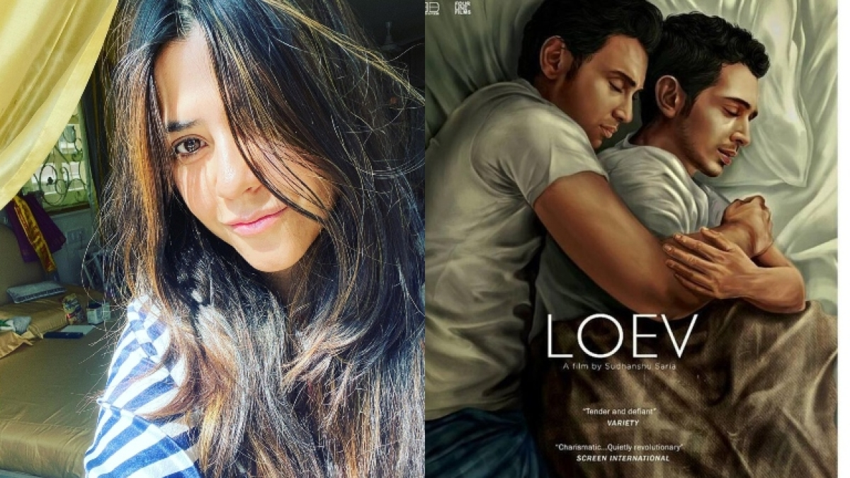 'His Storyy' poster row: 'Loev' filmmaker not satisfied with Ekta Kapoor's apology, says 'smacks of arrogance'