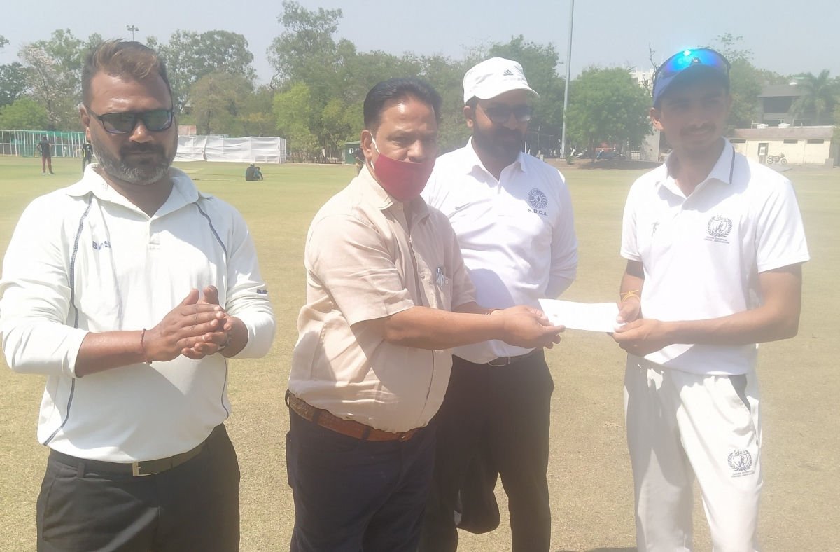 Indore sports update: Abhishek shines in Hiralal Gaikwad U-18 cricket tournament