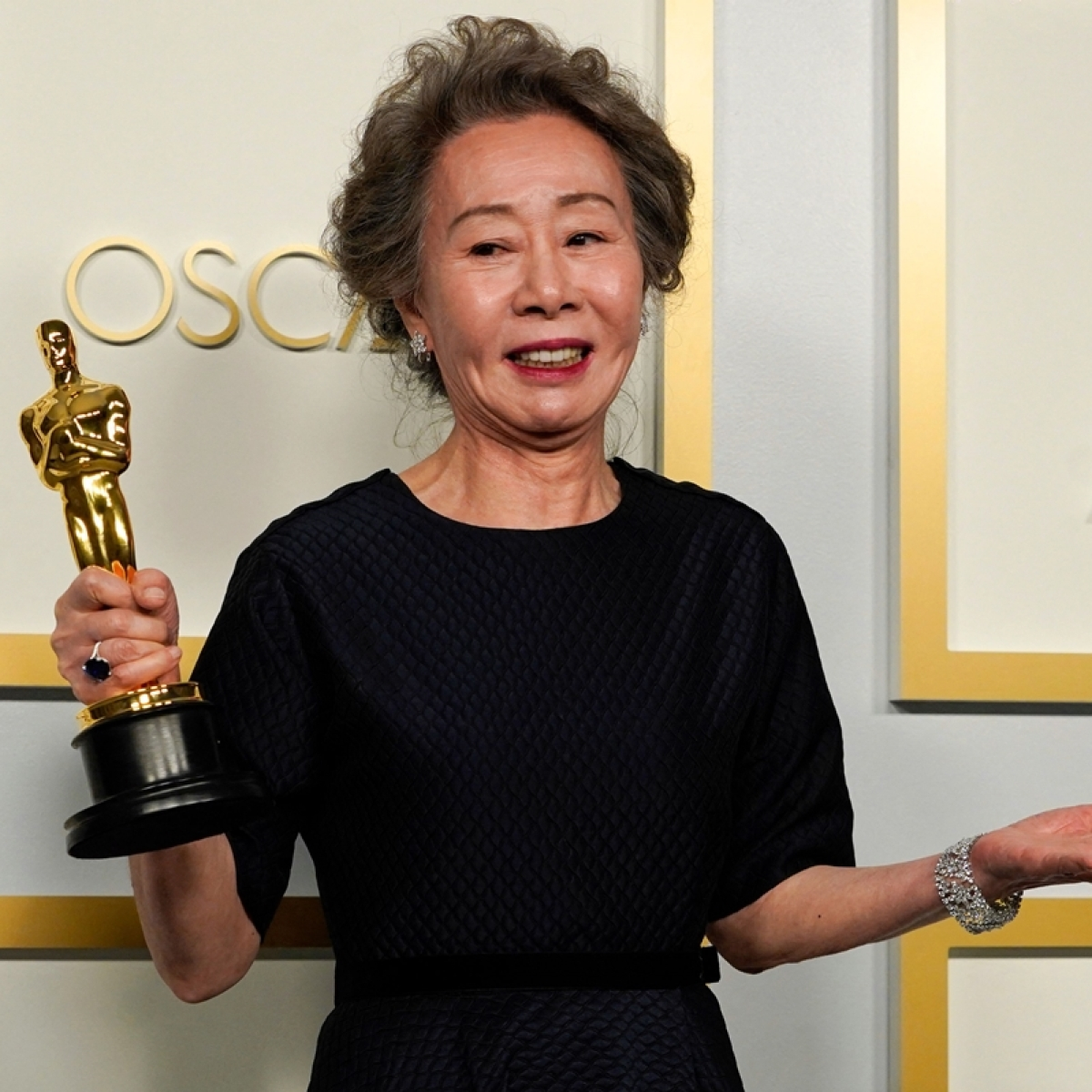Oscars 2021: Yuh-Jung Youn becomes first South Korean star to win best-supporting actress for 'Minari'