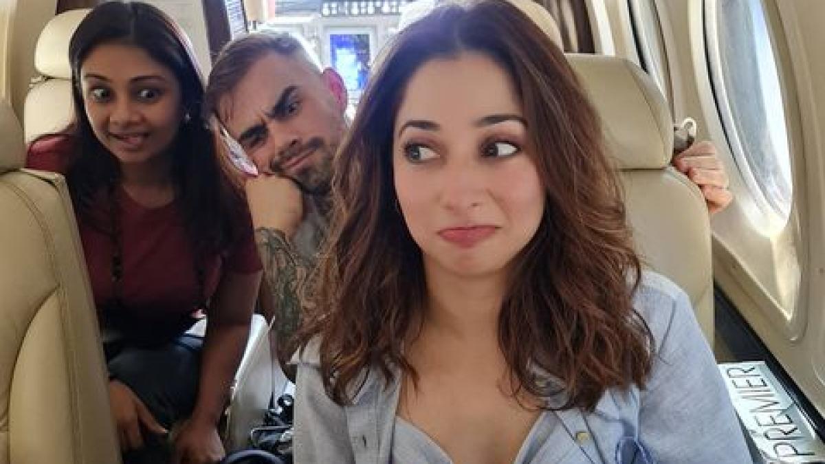 Netizens mistake Tamannaah Bhatia's makeup artist Florian Hurel as Virat Kohli - see pic