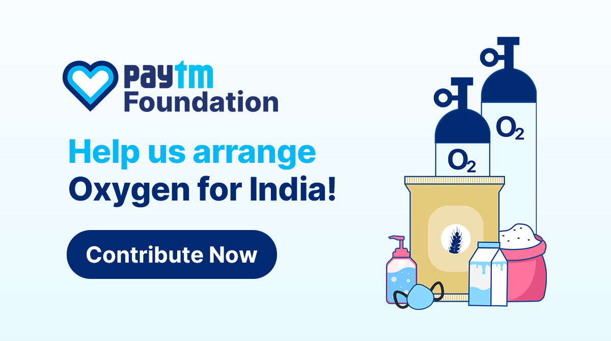 Vijay Shekhar Sharma launches initiative to donate 3,000 oxygen concentrators, appeals to people to donate on Paytm app