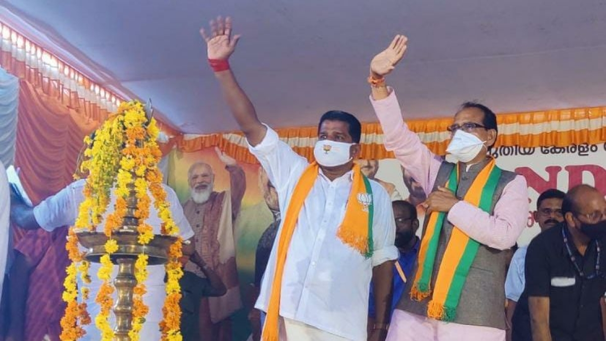 After West Bengal & Assam, Chief Minister Shivraj Singh Chouhan campaigns in Kerala
