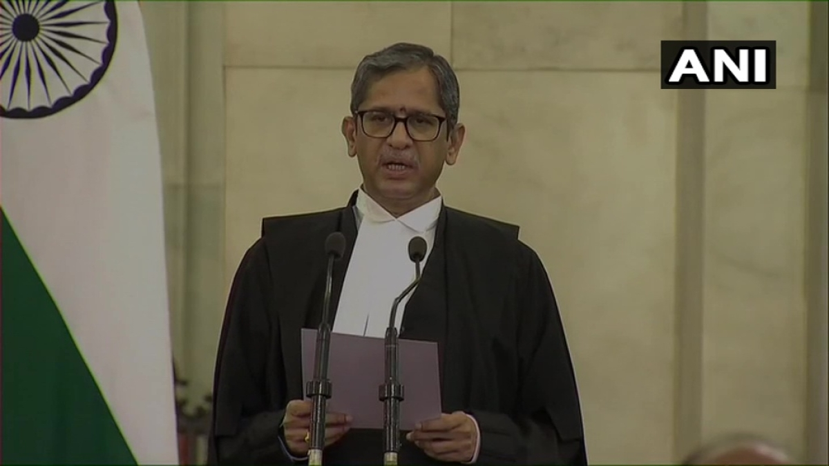 Justice NV Ramana takes oath as 48th Chief Justice of India