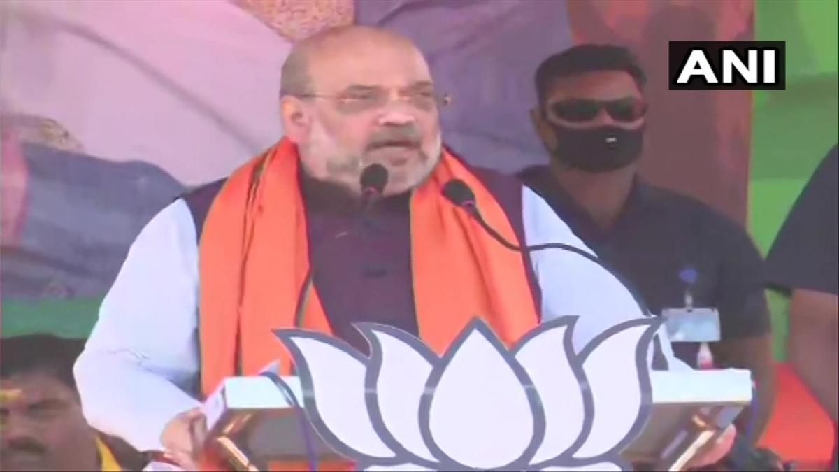West Bengal polls: Amit Shah says Mamata Banerjee's govt runs on 3T model of 'Tanashahi, Tolabazi, Tushtikaran'