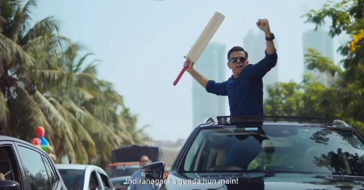 Rahul Dravid's 'angry' side in new advertisement catches everyone by surprise