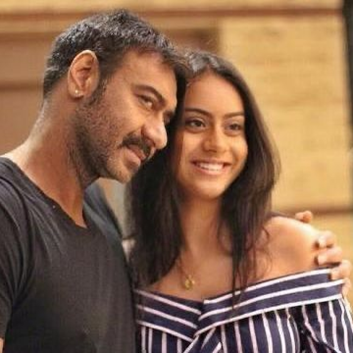 Amid 'stressful times', Ajay Devgn shares an unseen photo with daughter Nysa on her 18th birthday