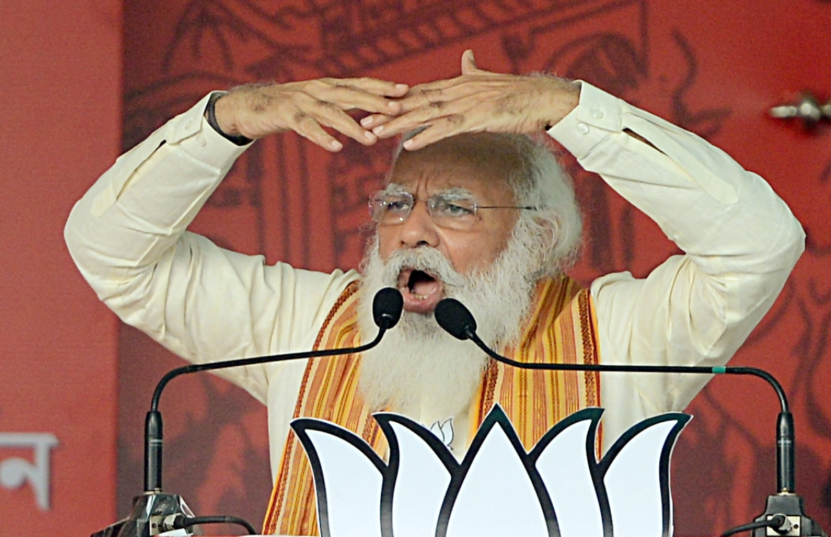 'Didi's bitterness, anger, fury continues to grow': PM Modi takes a jibe at Mamata Banerjee over Cooch Behar incident during West Bengal polls