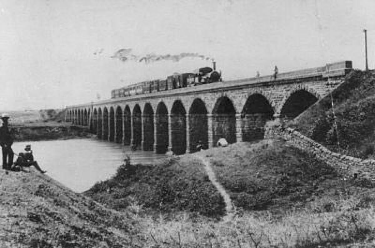 The first passenger train ran between Bori Bunder (Bombay) and Thane on 16 April 1853.