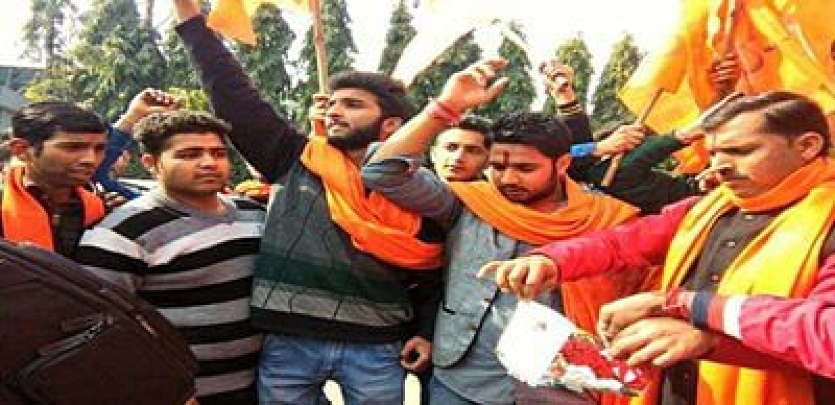 Bajrang Dal men booked in stabbing case