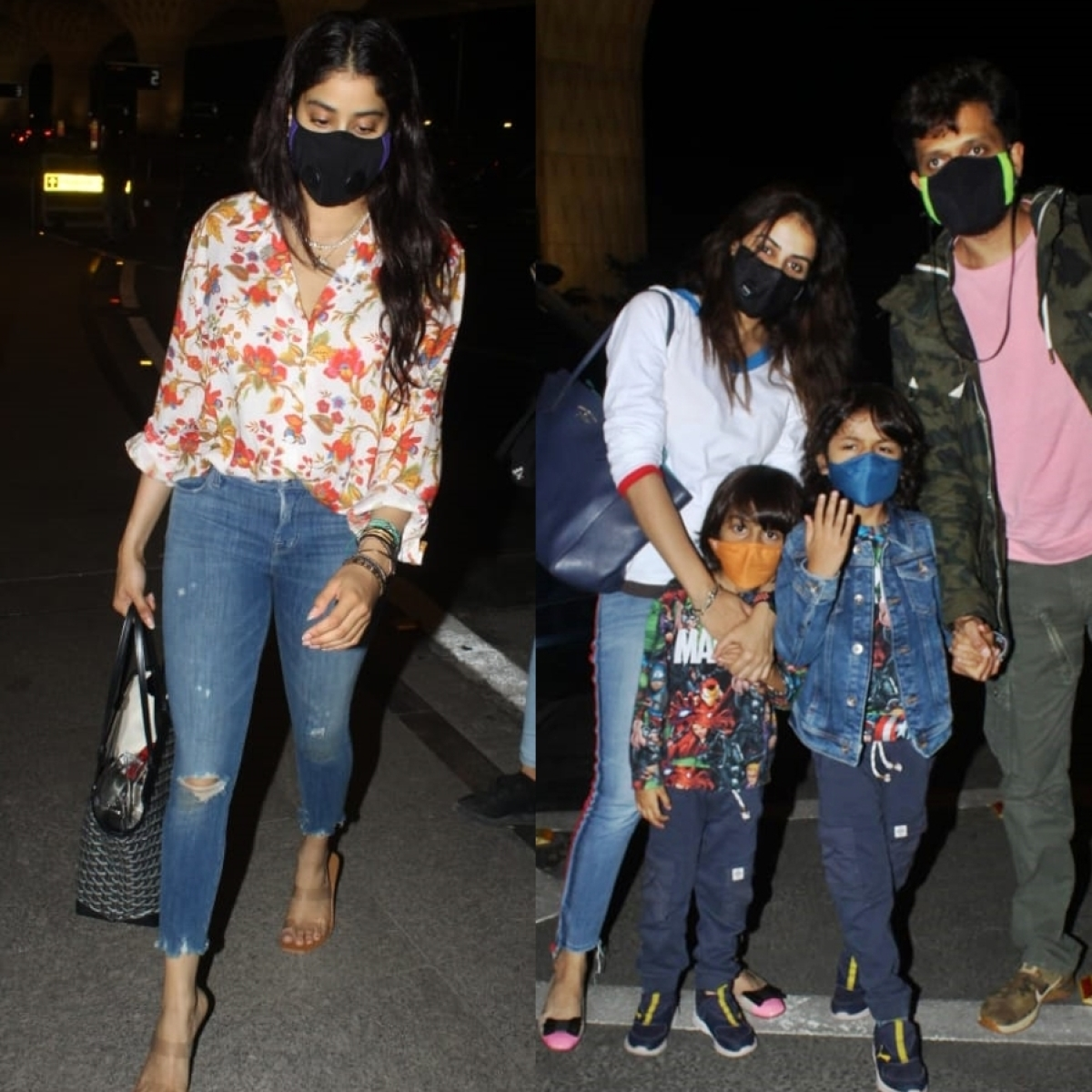 From Janhvi Kapoor to Riteish-Genelia Deshmukh, B-town celebs leave Mumbai amid lockdown