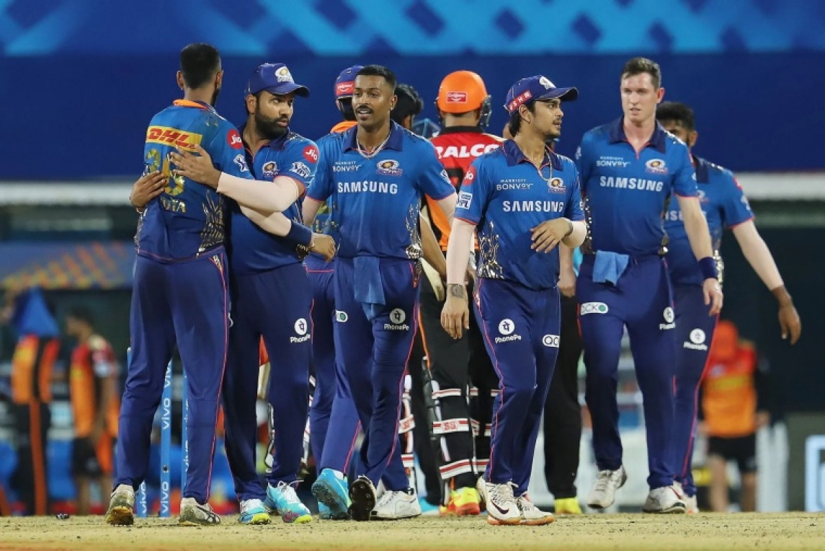 IPL 2021: Check out the points table after Mumbai Indians vs Sunrisers Hyderbad clash