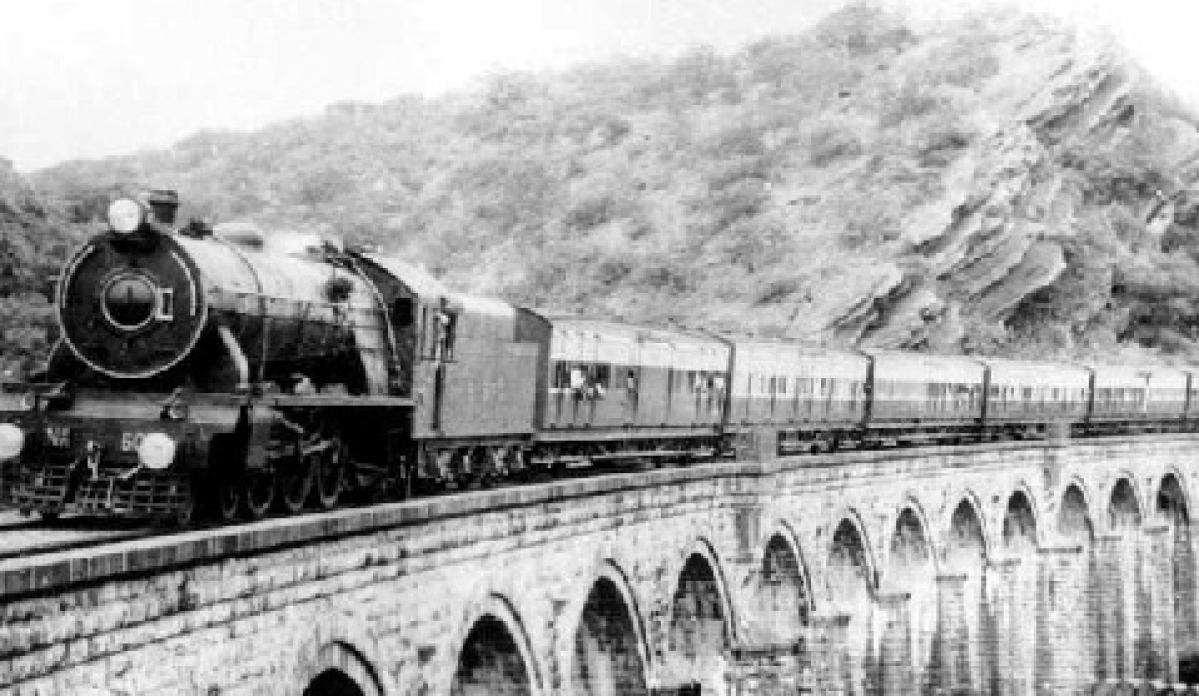 With 14 carriages and 13 locomotives, the first passenger train ran a distance of 34km on 16 April, 1853.