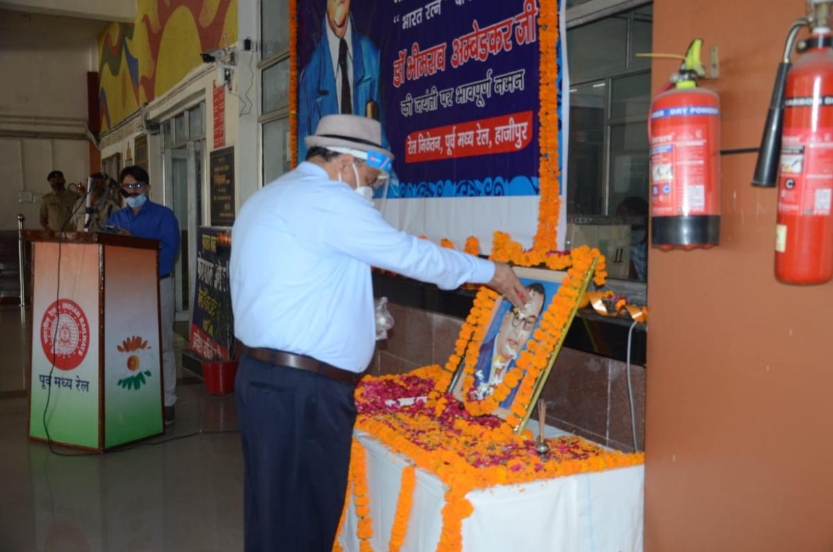 ECR observes the 130th birth anniversary of Babasaheb Dr. Bhimrao Ambedkar