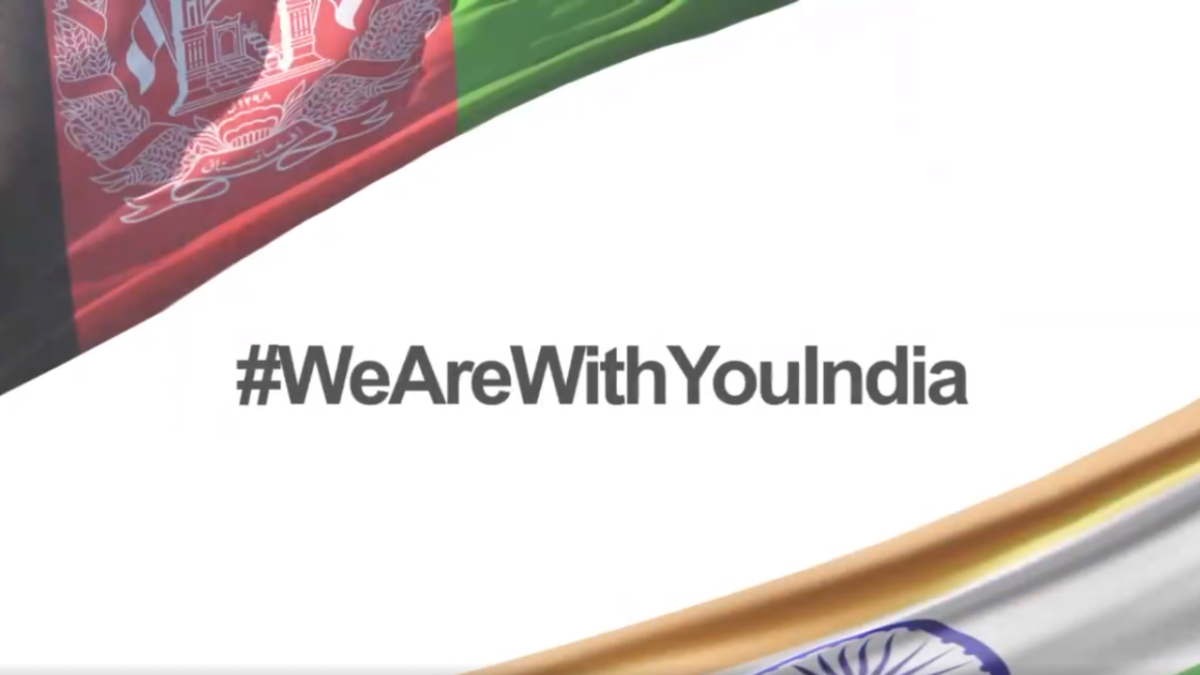 #WeAreWithYouIndia: Afghanistan has beautiful message of hope and concern for ailing India; WATCH video here