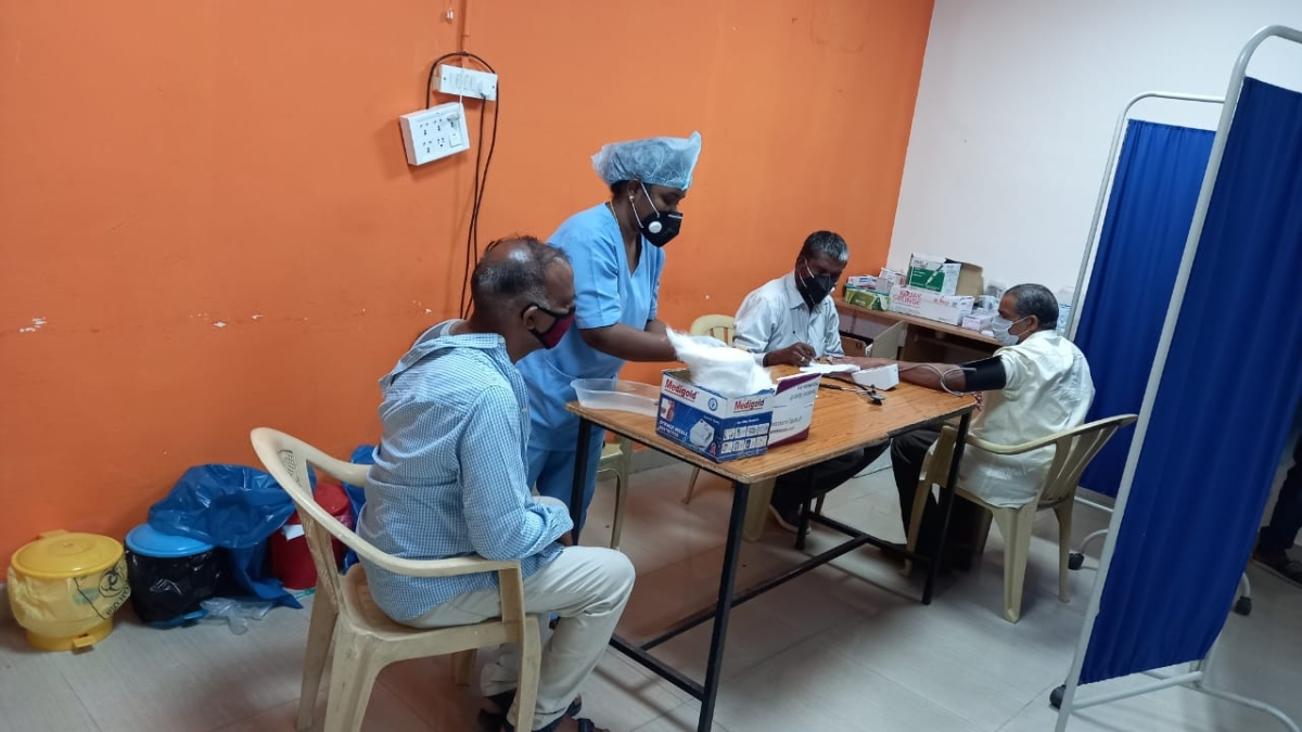 South Western Railway's Bengaluru Division organises Covid vaccination camp