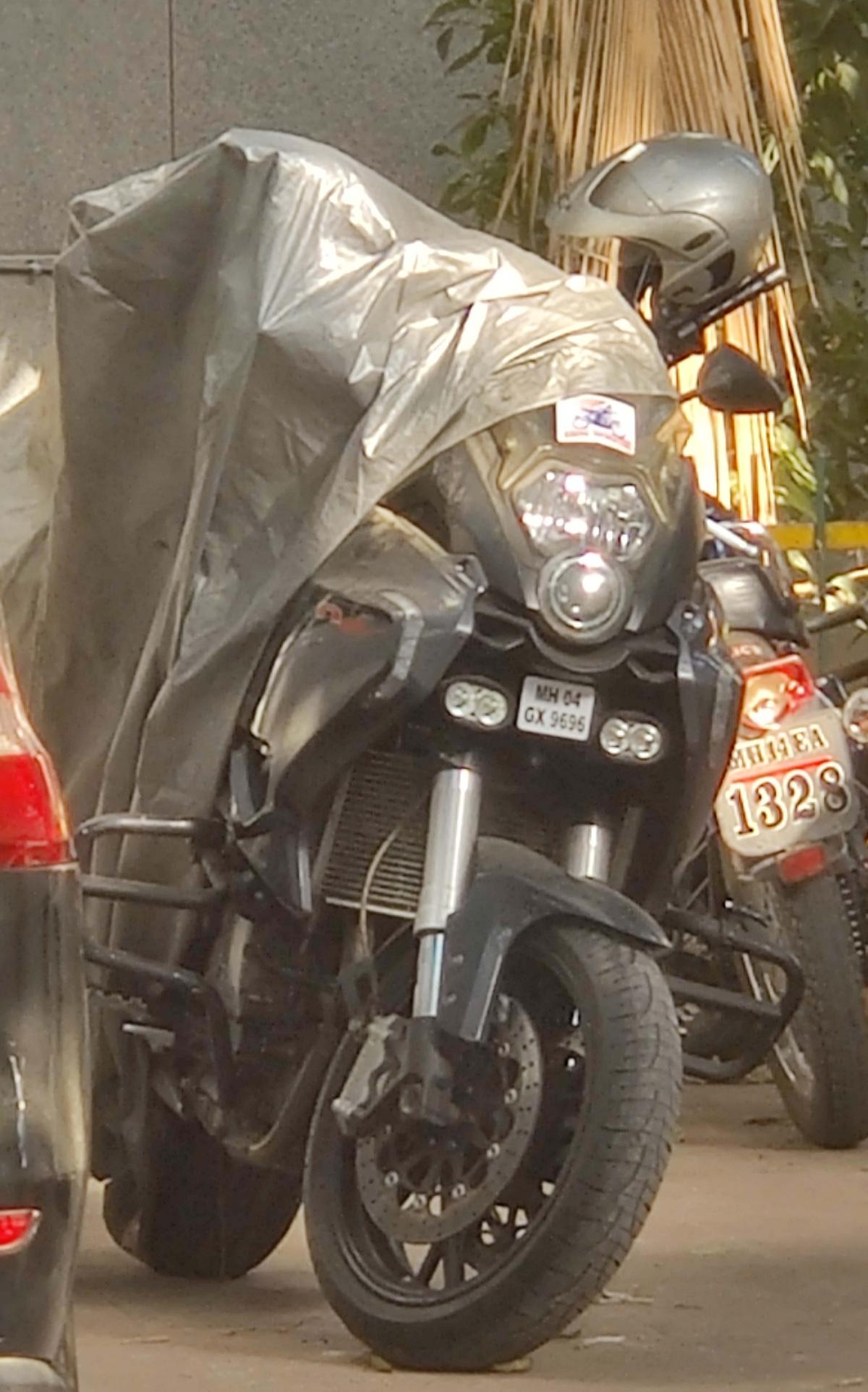 Antilia bomb scare: NIA seizes sports bike from Daman