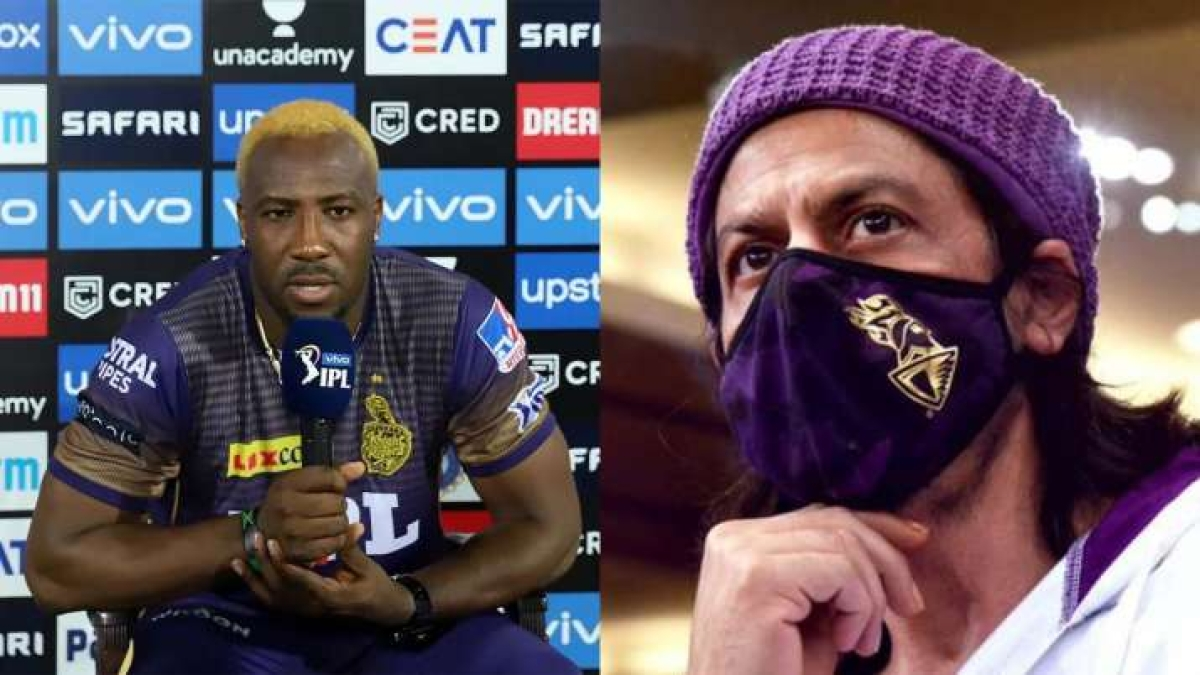 IPL 2021: Andre Russell reacts to Shah Rukh Khan's 'apology' tweet after KKR's 10-run loss to MI