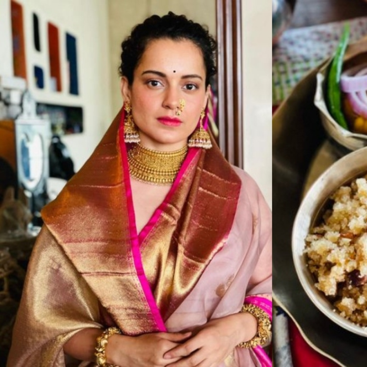 Kangana Ranaut reacts to being trolled for pic of Durga Ashtami's 'prasad' with onion, says 'Hinduism is not rigid like other religions'
