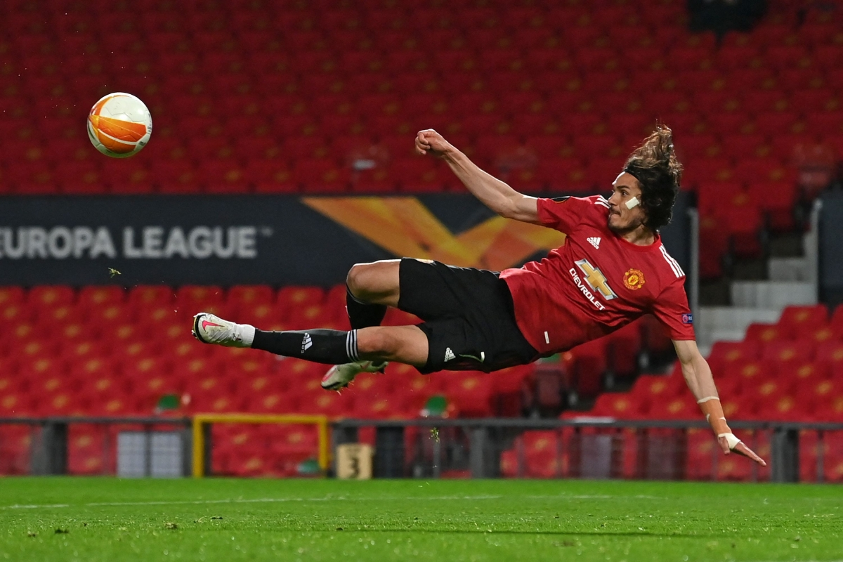 Cavani, Fernandes strike: As Man United rout Roma 6-2, on course for Europa League final