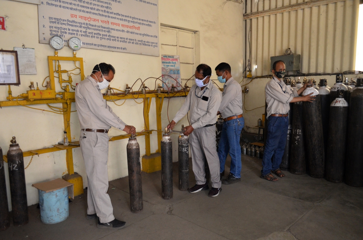 BHEL starts supply of oxygen to hospitals