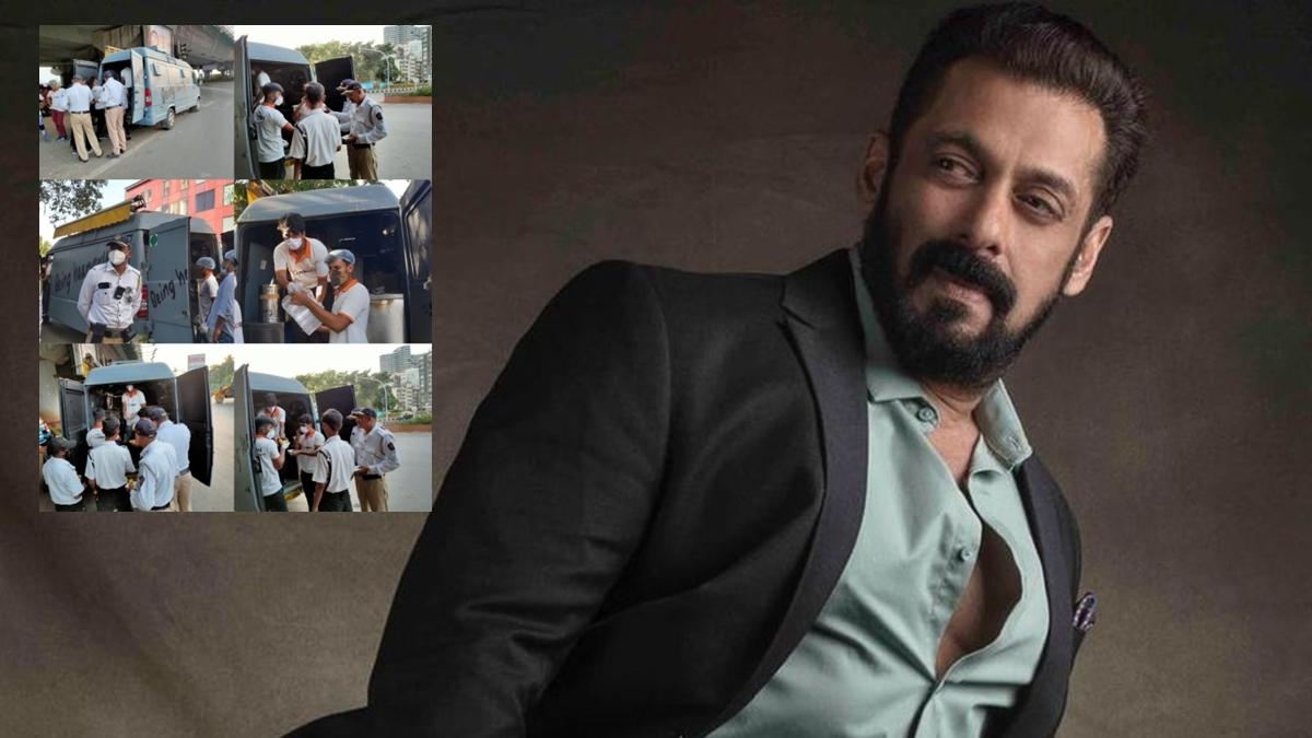 Mumbai: Salman Khan brings back his food trucks to serve frontline works amid COVID-19 second wave