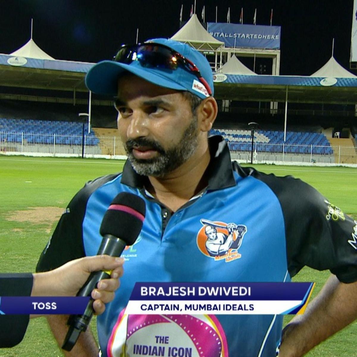 Mumbai Ideals team captain Brajesh Dwivedi