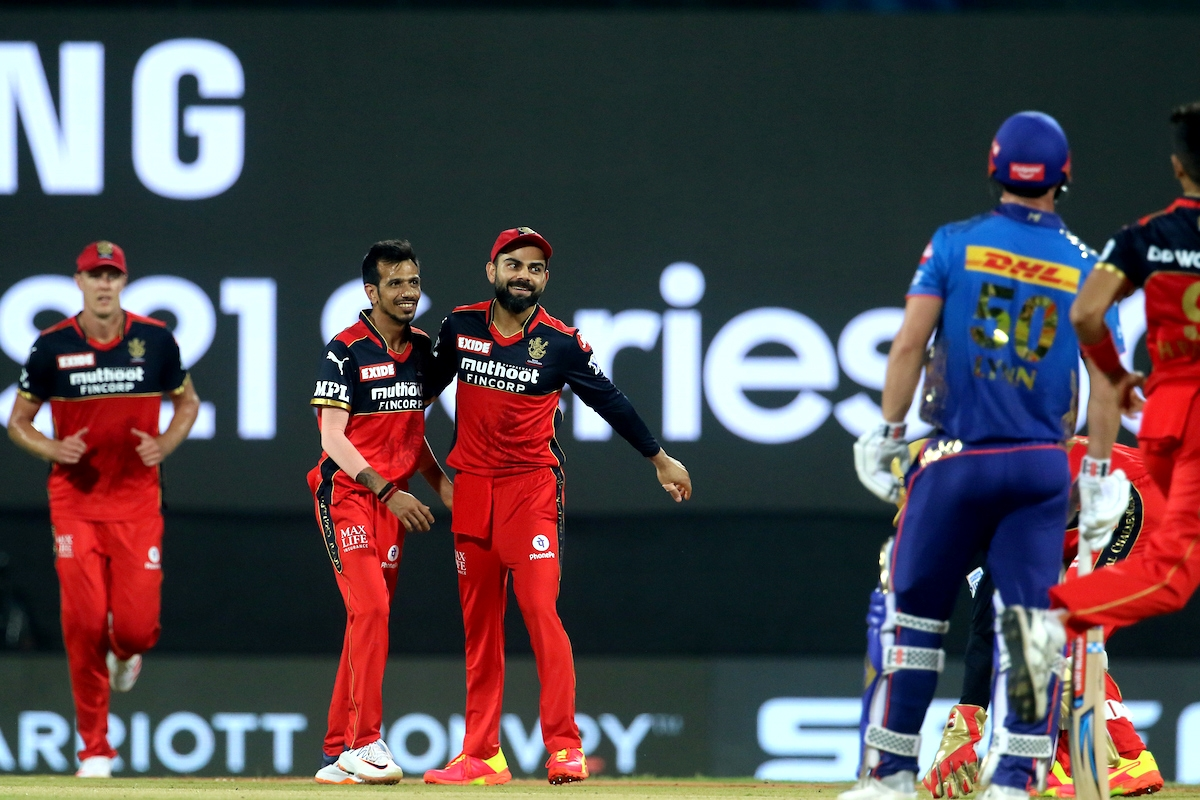 IPL 2021: RCB spinner Yuzvendra Chahal completes 100 games in tournament