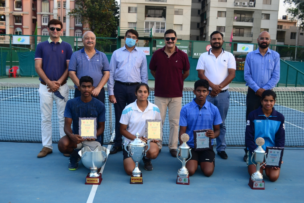 Indore: Sandesh, Sanjana emerge champions in national junior tennis tournament