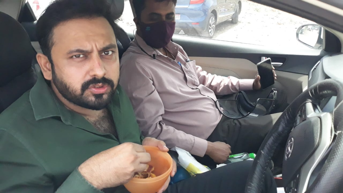 Pulmonologist Dr Zeeshan Mansoori says eat on time