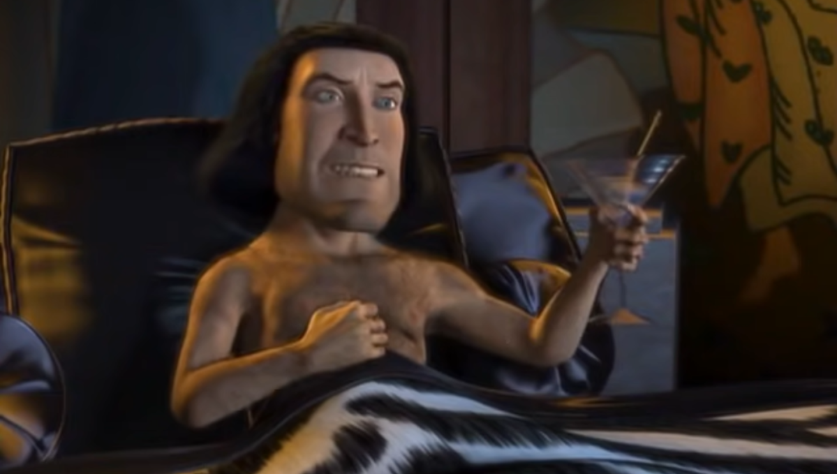 Eagle-eyed netizen spots X-rated scene in Shrek...and we'll never be able to look at Lord Farquaad the same again