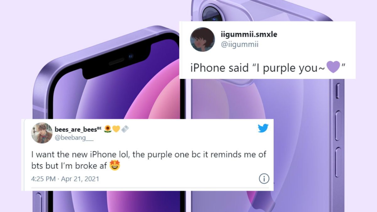 Purple iPhone 12 is Twitterati's new obsession; HERE's how it looks