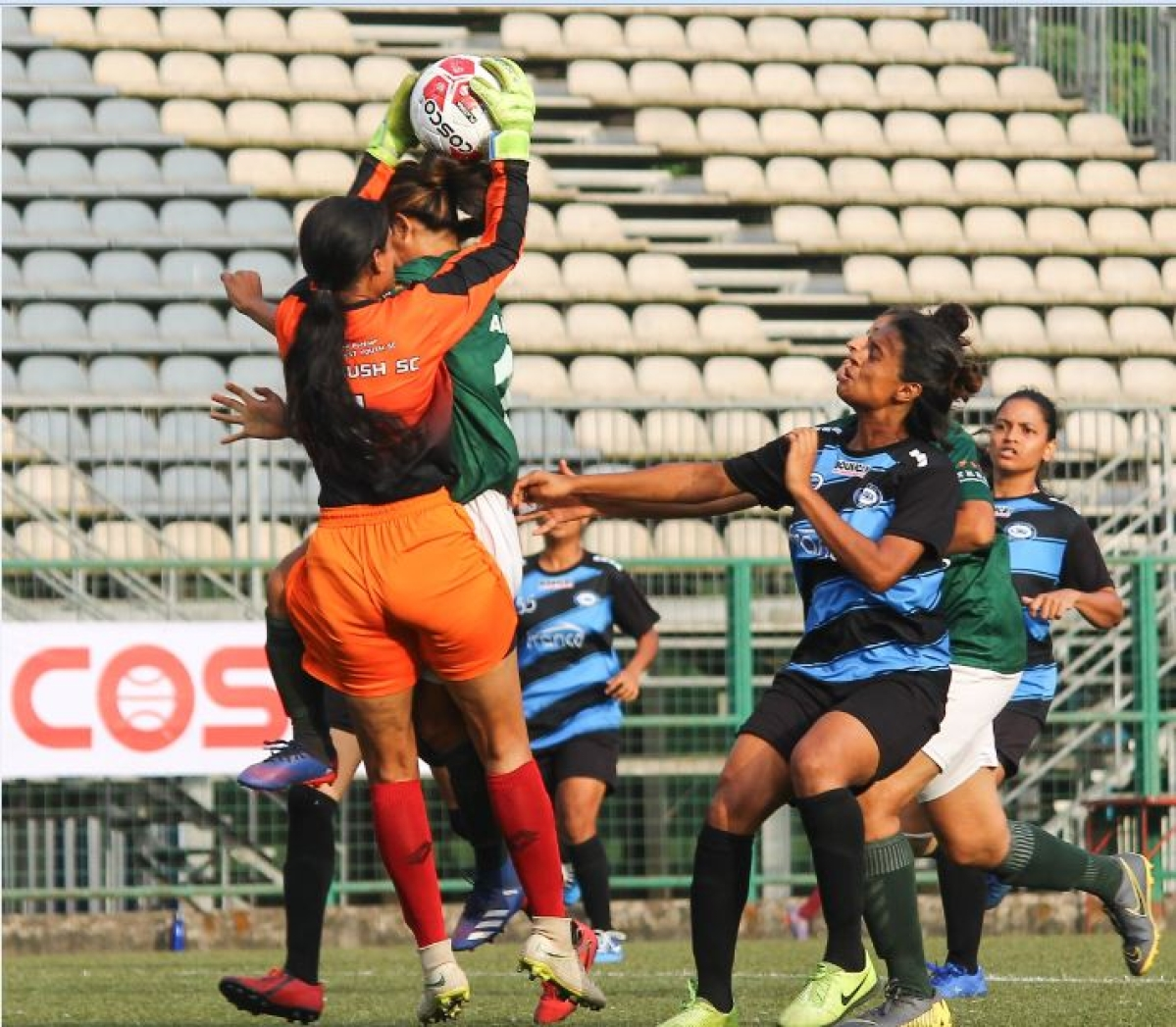 WIFA Women's Football league; Amma AFC charge to easy 5-0 victory