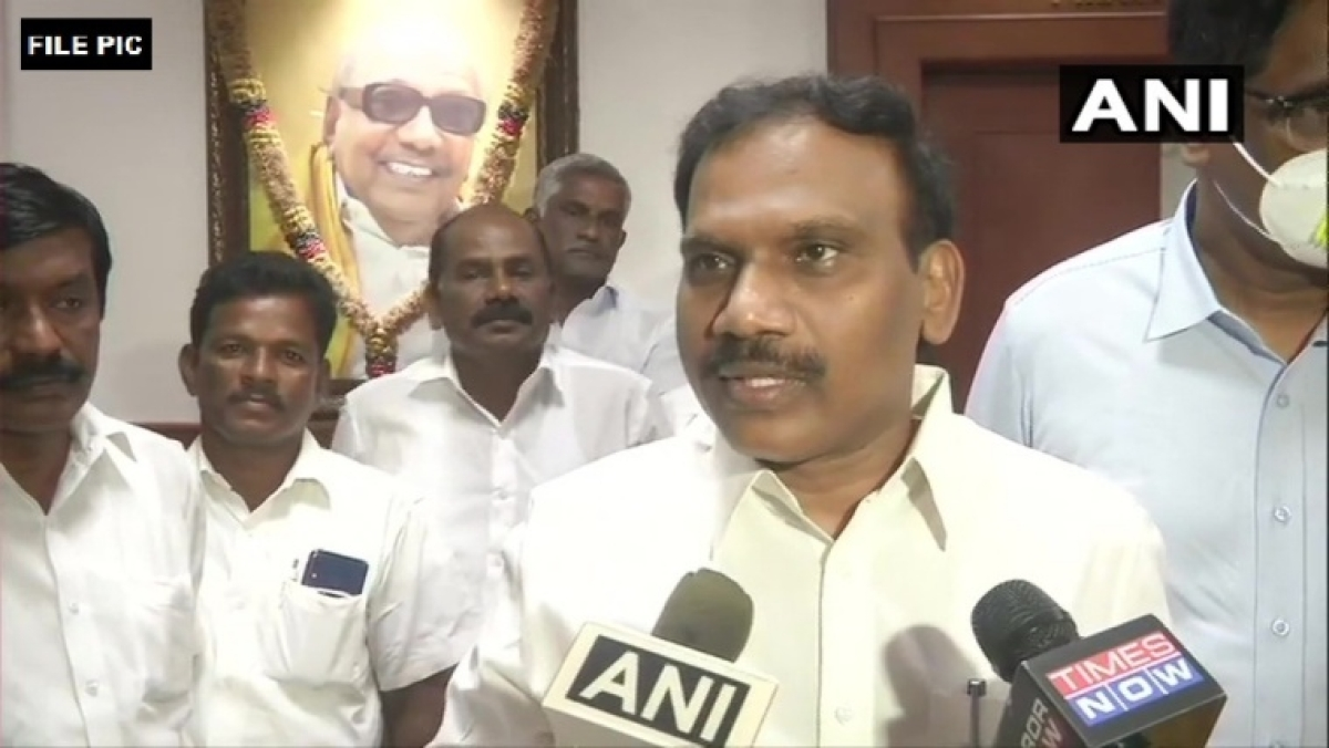 Tamil Nadu: DMK's A Raja barred from campaigning for 48 hours over remarks against CM E Palaniswamy