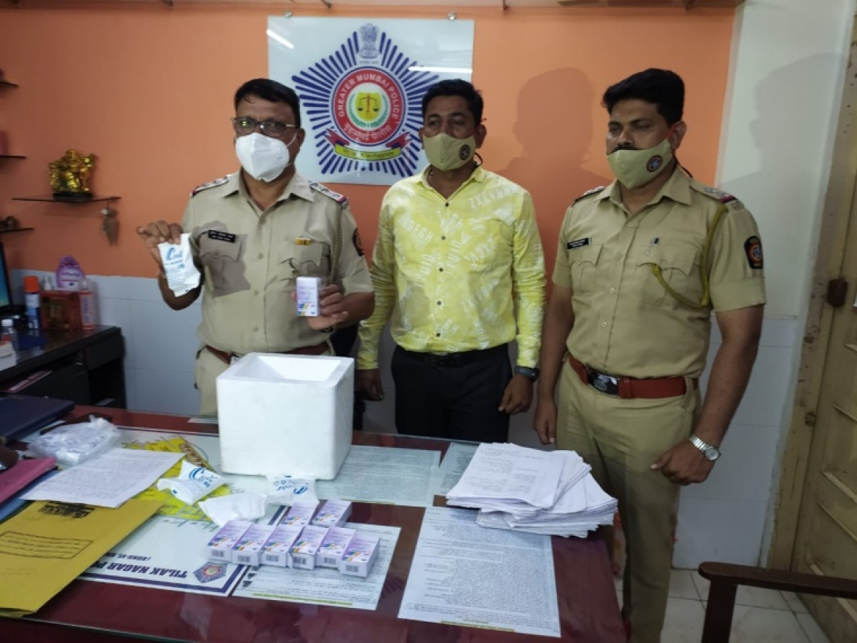 Mumbai: Man arrested for duping needy patients under guise of supplying Remdesivir