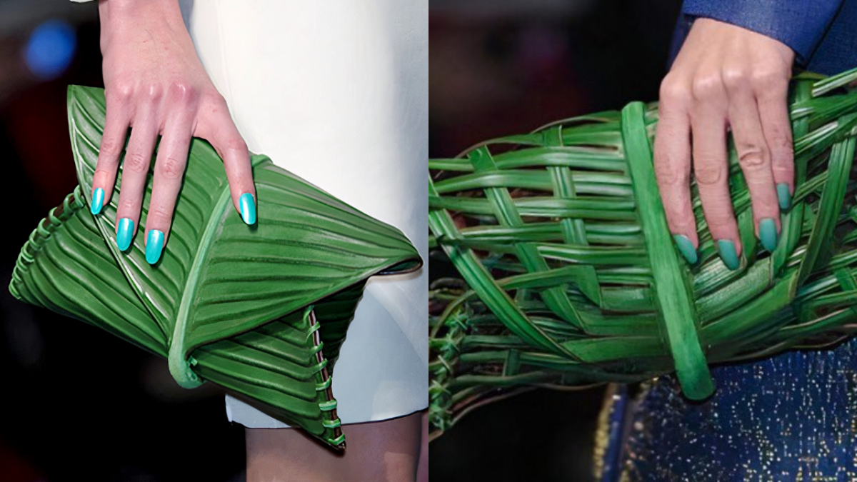 Leaf Bags from Jean Paul Gaultier Spring 2010 Haute Couture