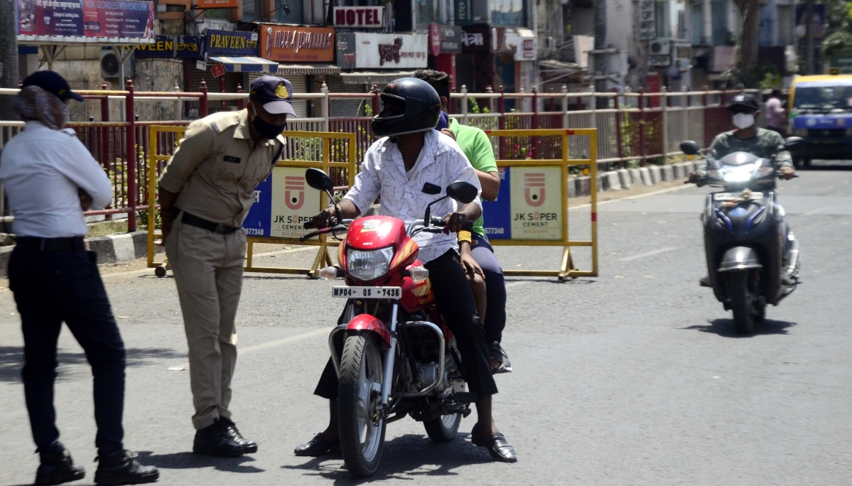 Bhopal: 688 fined for not wearing masks