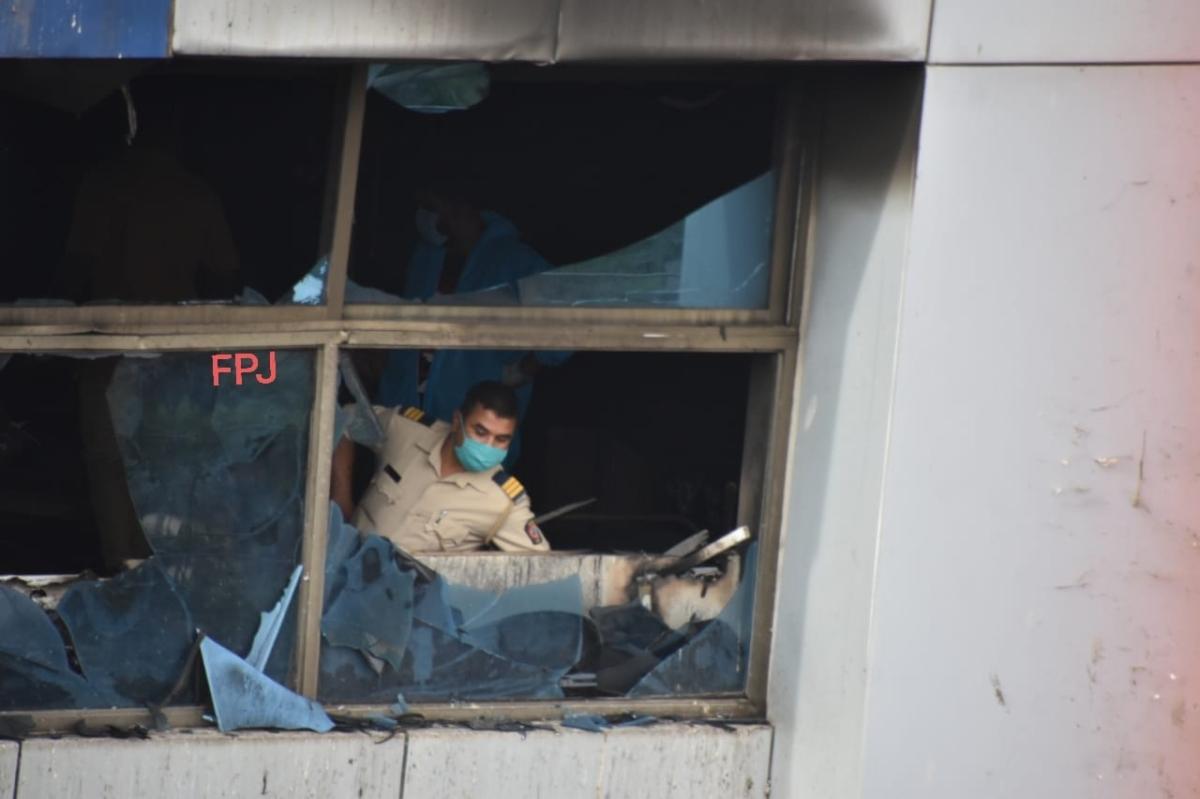 Mumbai: Thirteen COVID-19 patients die in hospital fire in Virar