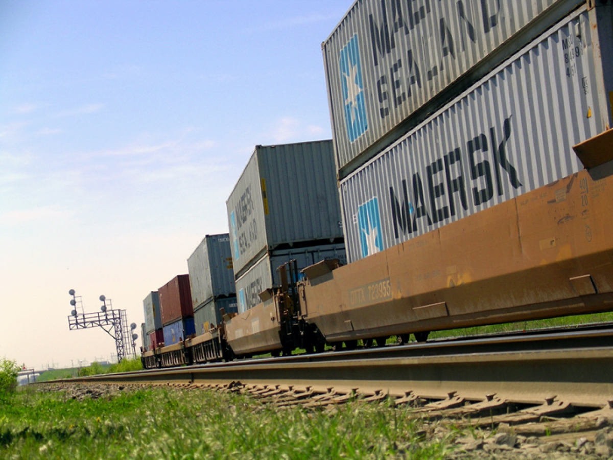 Maersk launches double-stacked train service for auto sector
