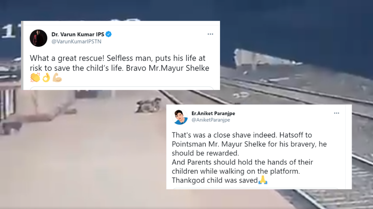 'Beyond Bravery': Twitterati demand award for the real-life hero Mayur Shelke who saved a kid from death