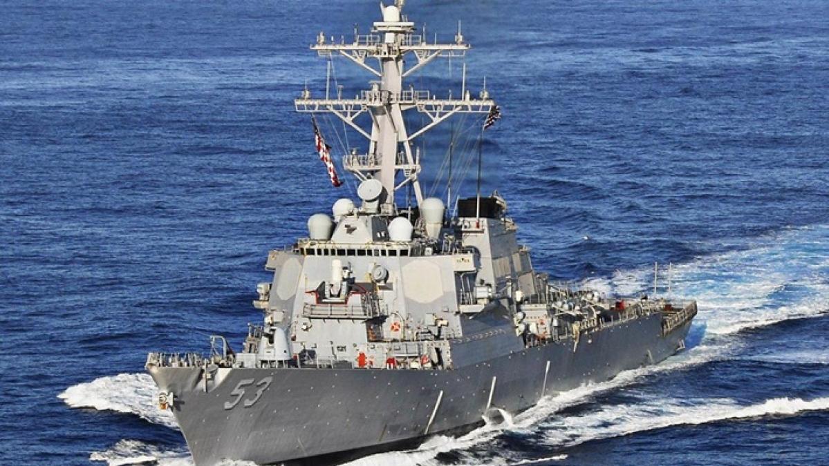 USS John Paul Jones ship