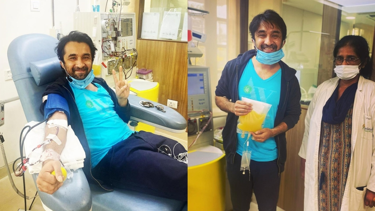 'A lot of people told me to wait': Siddhant Kapoor on donating plasma amid COVID-19 crisis