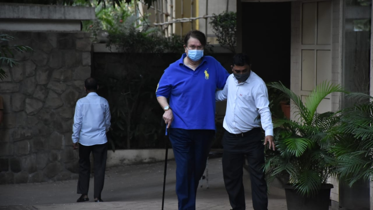 Randhir Kapoor hospitalised after testing positive for COVID-19