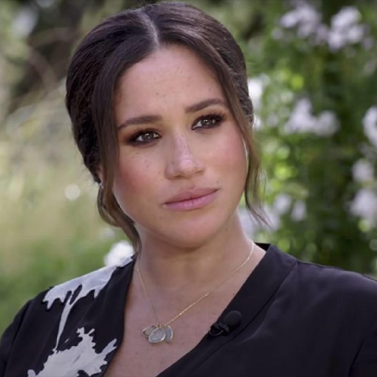 Meghan Markle watches Prince Philip's funeral at California home