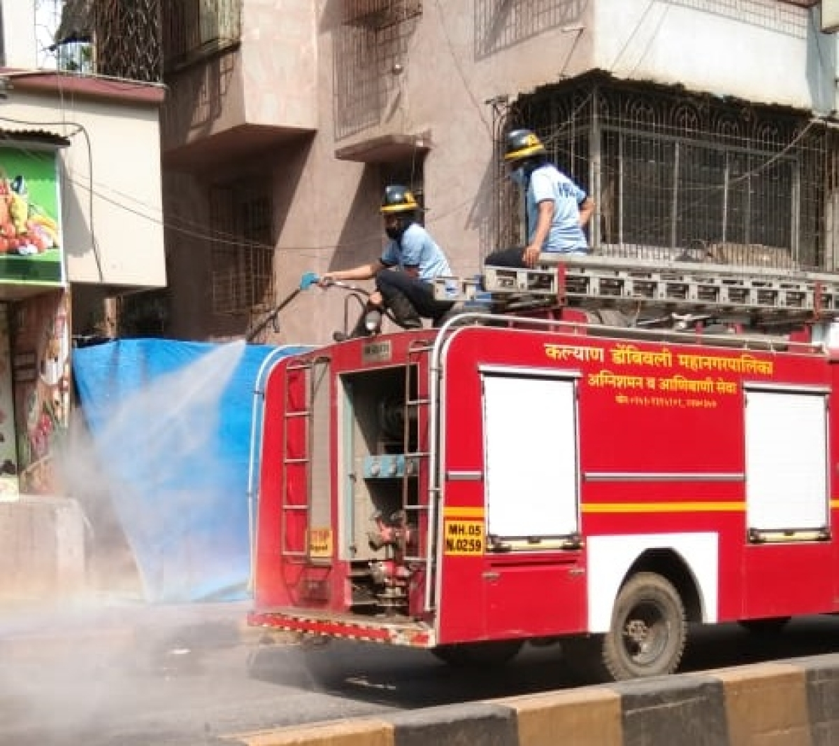COVID-19 in Kalyan: KDMC picks up safety measures; conducts sanitisation in city